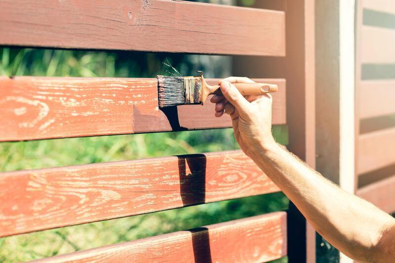 affordable fence painting service